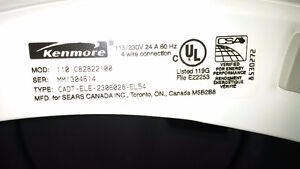 Used Kenmore Elite Dryer - He3 - front loading West Island Greater Montréal image 4