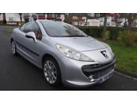 PEUGEOT 207 GT COUPE CABRIOLET - LOW MILES 2007 Manual 0 Petrol Silver Petrol