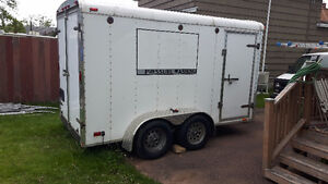 Hot Pressure Washer and Utility Trailer