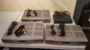 3 Source / Rogers HD TV cable boxes. *One with PVR capabilities