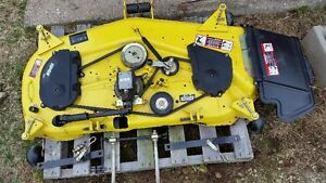 Mid-mount mower deck for John Deere tractor. PRICE REDUCED