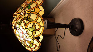 extra large shade  table lamp