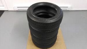 4 pneus d'été 205/60/R16 BRIDGESTONE comme neufs