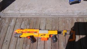 Fusil NERF jaune