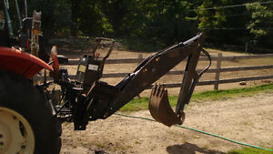 3 point hitch backhoe attatchment