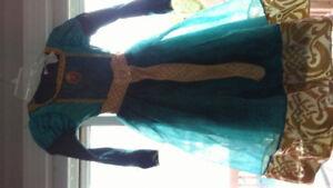 Robe princesse Merida