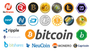 Bitcoin Ethereum Ripple Litecoin for sale low fees 1500 trades