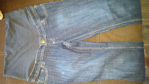 TWO (2) THYME MATERNITY JEANS