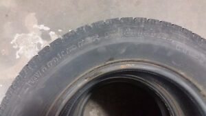 4 BFGoodrich Winter Slalom tires P205/70R15 Kitchener / Waterloo Kitchener Area image 1