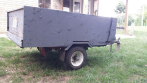4 x 5 TRAILER IN GOOD CONDITIONS, NO RUST