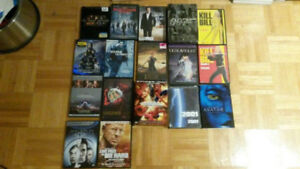 assorted DVD action/scifi movies titles