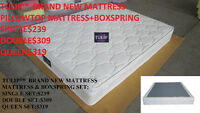 █★QUEEN BRAND NEW NICE EURO-TOP MATTRESS AND BOXSPRING $319!