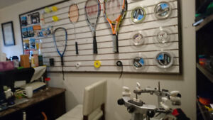 Racket for sale and restring