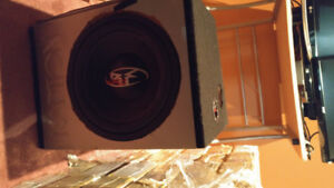 12 inch subwoofer and box