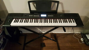 YAMAHA NV-P80 with stand and pedal