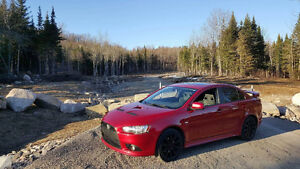 2009 Mitsubishi Lancer Ralliart Berline