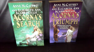 Anne McCaffrey & Elizabeth Ann Scarborough fantasy/adventures