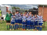 Calverton Miners Welfare FC under 12s blue