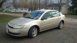 Saturn ION Sedan only 160,000 km, remote start, winter tires