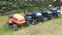 Lawn tractors for sale! GREAT PRICES!!