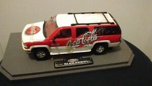 1999 Matchbox Suburban Cocacola Car