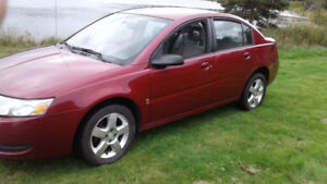 2007 SATURN ION, AUTOMATIC,  4 DR