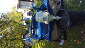 trade fishing boat motor trailer for Seado and trailer