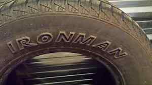 2 Ironman tires