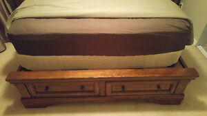 Wood Queen Size Bed Frame