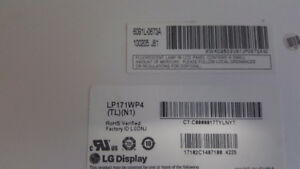 Brand New 17.1 LCD screen for Laptop