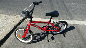 "KID BMX 16"" BIKE VELO - Almost new"