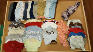 Boys size 3 to 6 month
