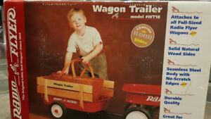 Rare Radio Flyer Wagon Trailer Brand new in Box never opened