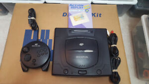 Sega Saturn Bundle, 3D Controller & Action Replay Plus *Discount