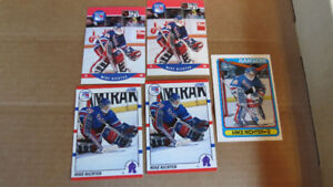 Mike Richter rookie cards(5)
