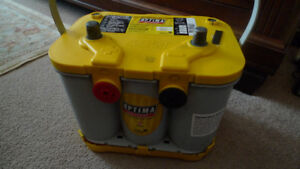 Optima Yellow Top Car & Truck/SUV Battery Model 3478DT .