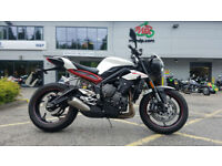 2017 67 Plate Triumph Street Triple R 765 1 Owner 2,455 Miles