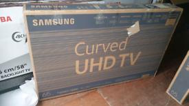 TV 65INCH SAMSUNG CURVE SMART WIFI 4K ULTR HD HDR
