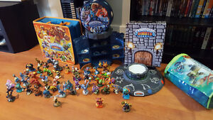 Skylanders and carrying cases