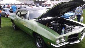 1972 pontiac lemans 350.