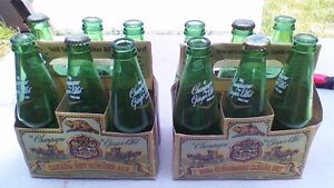 CANADA DRY 2000 MILLENNIUM LIMITED EDITION 6 BOTTLES AND CASE Stratford Kitchener Area image 4