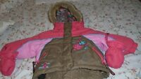 Baby girl winter snow suit size 12 months excellent condition
