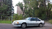1991 Ford Mustang LX Hatchback 5.0 negotiable