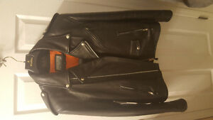 New Iron Gear Leather Bikers Jacket from Guccini's