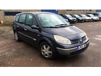 2005 Renault G-SCENIC DYNAMIQUE VVT, 7 seater MPV, 5-door,1.6 full service history