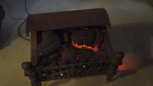 Vintage Electric Fireplace Heater