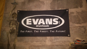 Evans drum flag