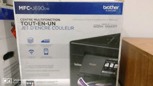 Brother Wireless Color Printer,Scanner,Copier,Fax