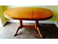 Kitchen / Dining Extending Table - Solid Pine