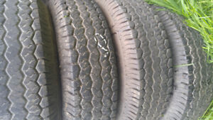 ST 225-75-15  TRAILERS  4 TIRES